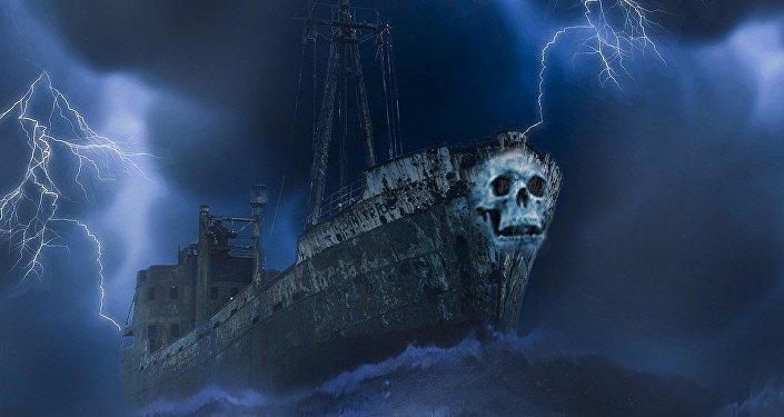 Un mystérieux «bateau-fantôme»
