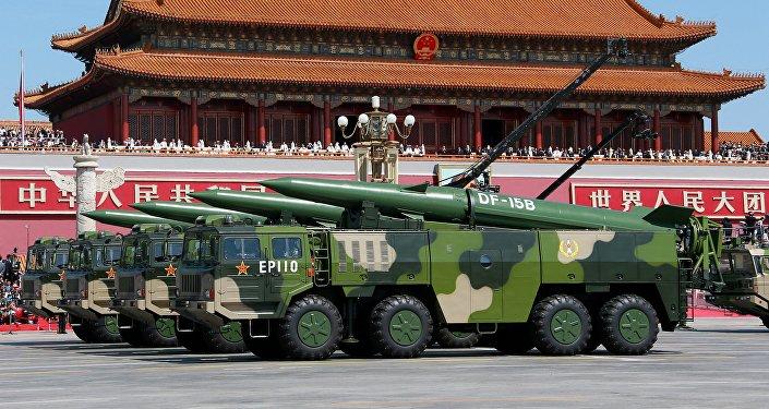 Parade militaire à Pékin. Image d'illustration