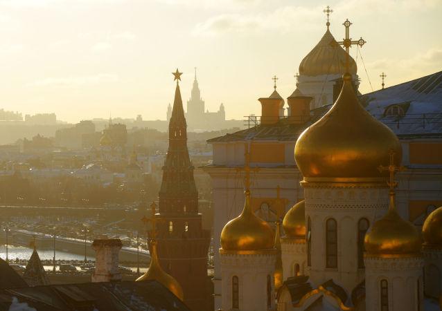 La capitale russe sous les rayons du soleil hivernal
