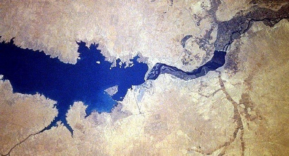 Barrage de l'Euphrate