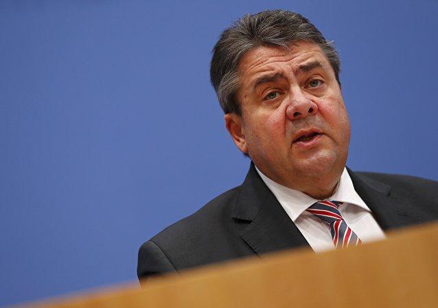 Le ministre allemand des Affaires étrangères Sigmar Gabriel