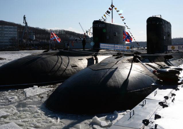 Le sous-marin «Komsomolsk-sur-l'Amour» de retour dans les eaux du
