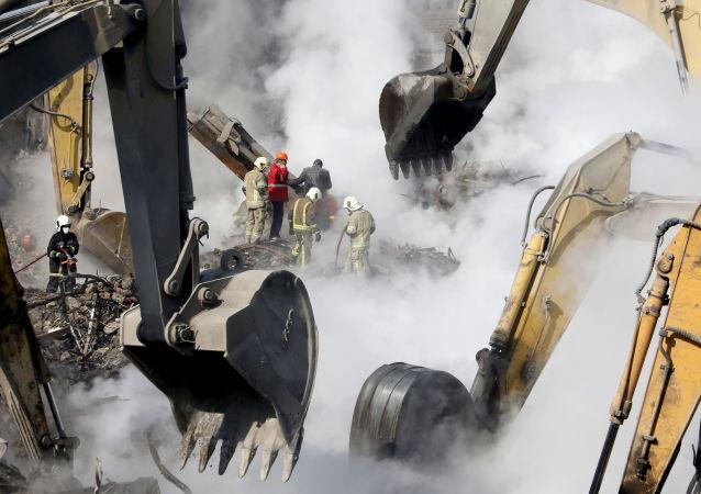 La cause de l'effondrement d'un immeuble à Téhéran identifiée