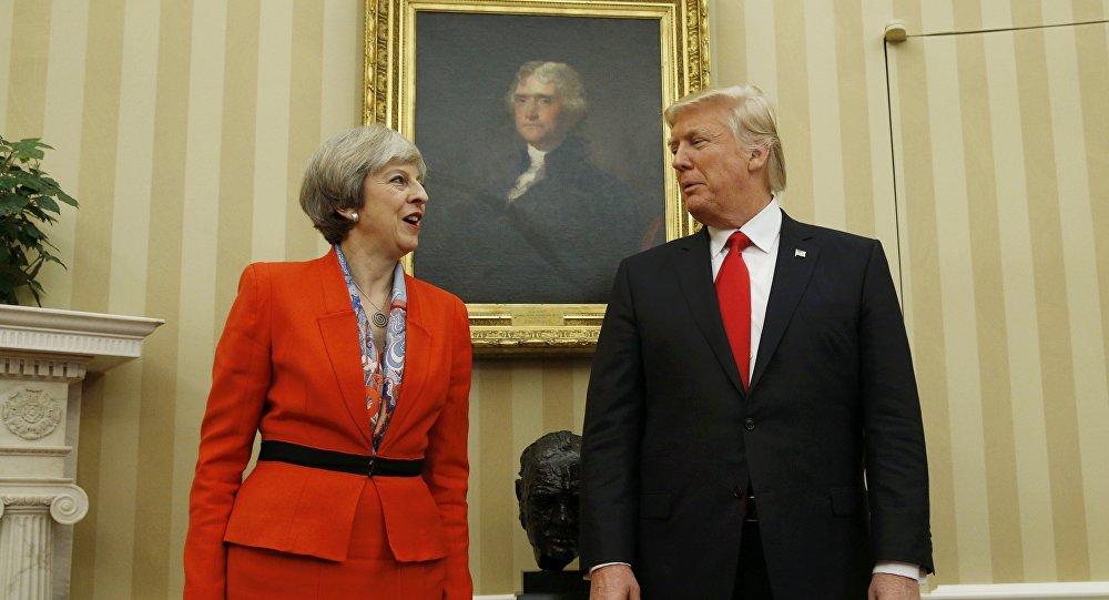 Donald Trump et Theresa May