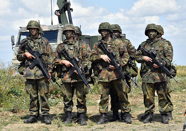 Des soldats de la Bundeswehr