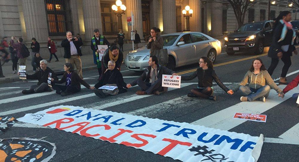 Protestations aux Etats-Unis