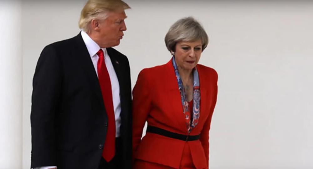 Trump et May