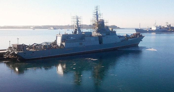 La corvette russe dernier cri Soverchenny