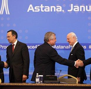 les rencontres d'Astana