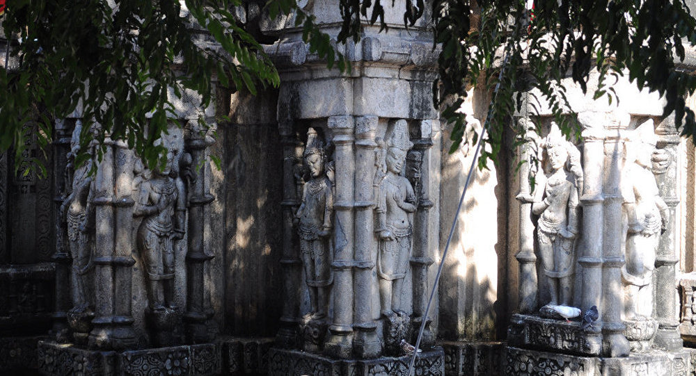 Inde: un croyant se sacrifie pour sa déesse préférée 1029868389