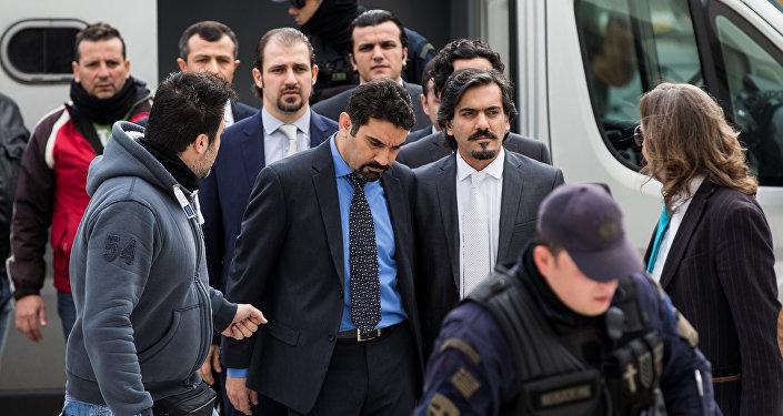 Militaires turcs exilés en Grèce