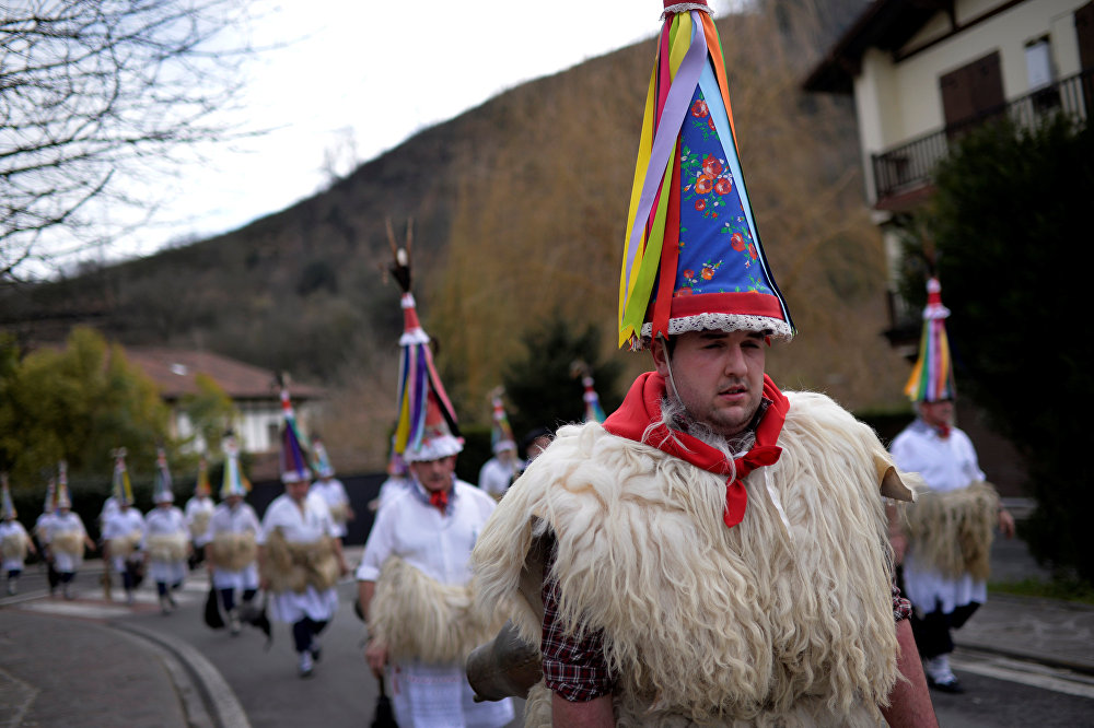 Carnaval diabolique au Pays basque