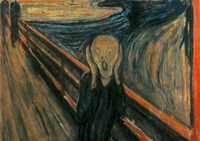 Le Cri, œuvre expressionniste d'Edvard Munch