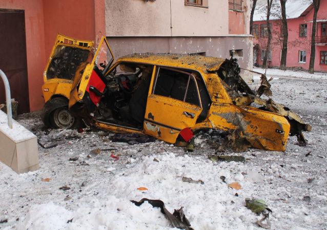 Les conséquences du pilonnage de Donetsk