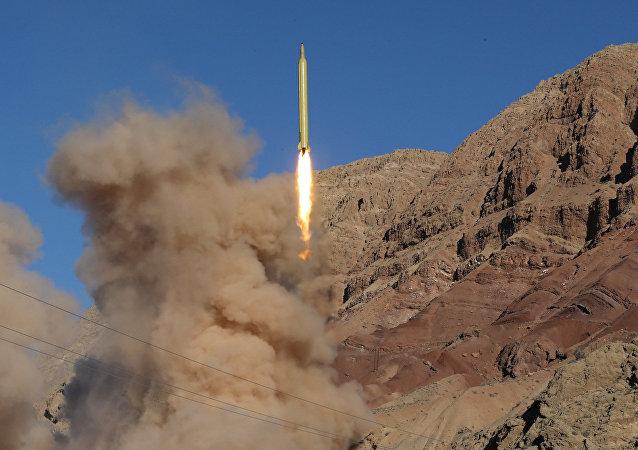 Iran teste ses missiles, image d'illustration