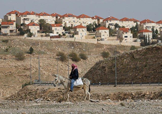 La colonie israélienne de Maale Edumim, située en Cisjordanie. Archive photo