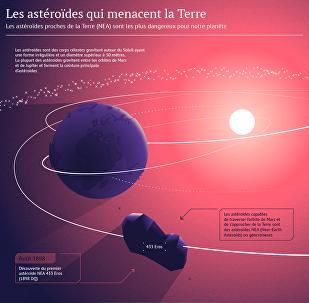 Les astéroïdes qui menacent la Terre