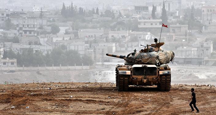 Soldats turcs en Syrie