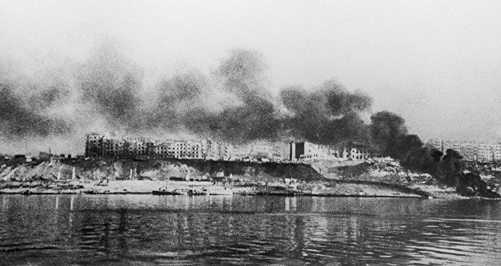 Сталинград в огне. Великая Отечественная война (1941-1945).