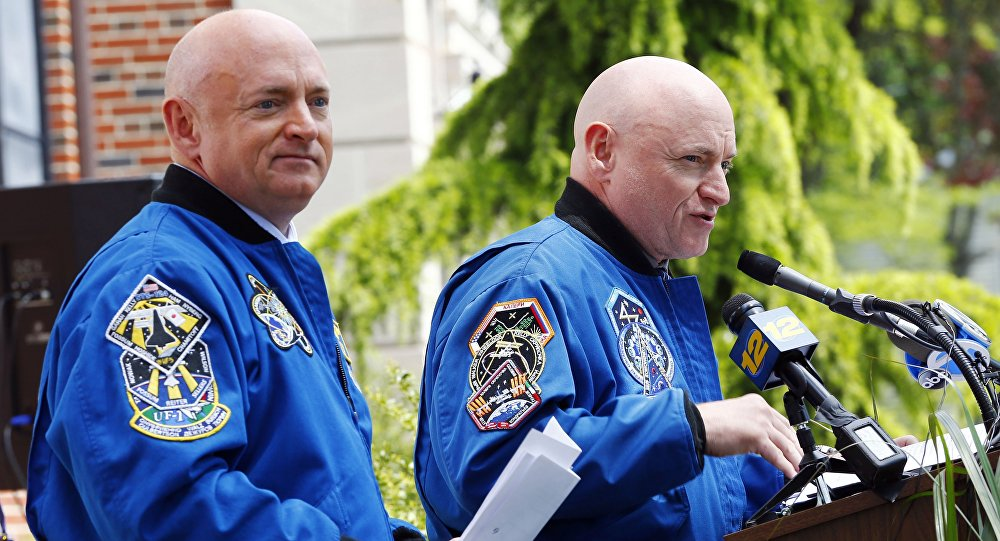 Scott Kelly et Mark Kelly