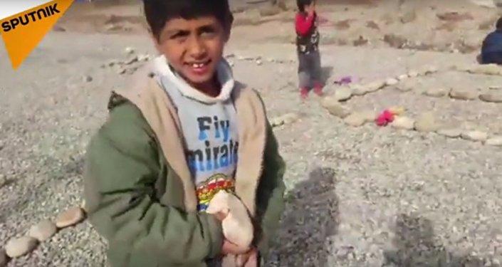 Des enfants irakiens révèlent leurs rêves à Sputnik