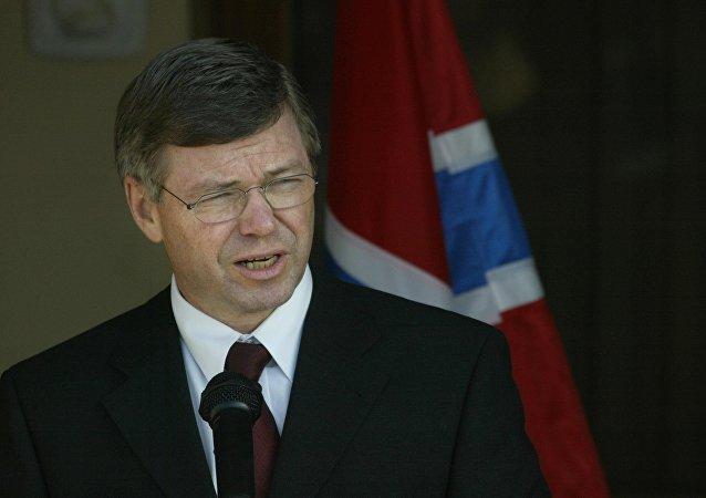 L'ex-premier ministre norvégien Kjell Magne Bondevik. Archive photo