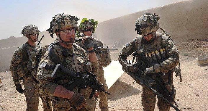 Les militaires américains en Afghanistan