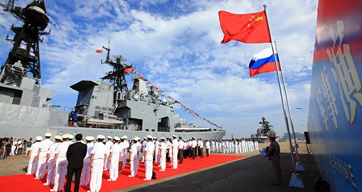 Un navire militaire russe arrive dans le port de Zhanjiang,dans le sud de la Chine