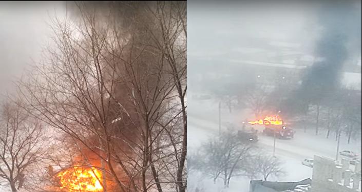 Une voiture piégée explose à Lougansk