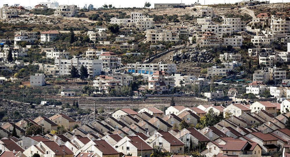 Une colonie israélienne en Cisjordanie, image d'illustration