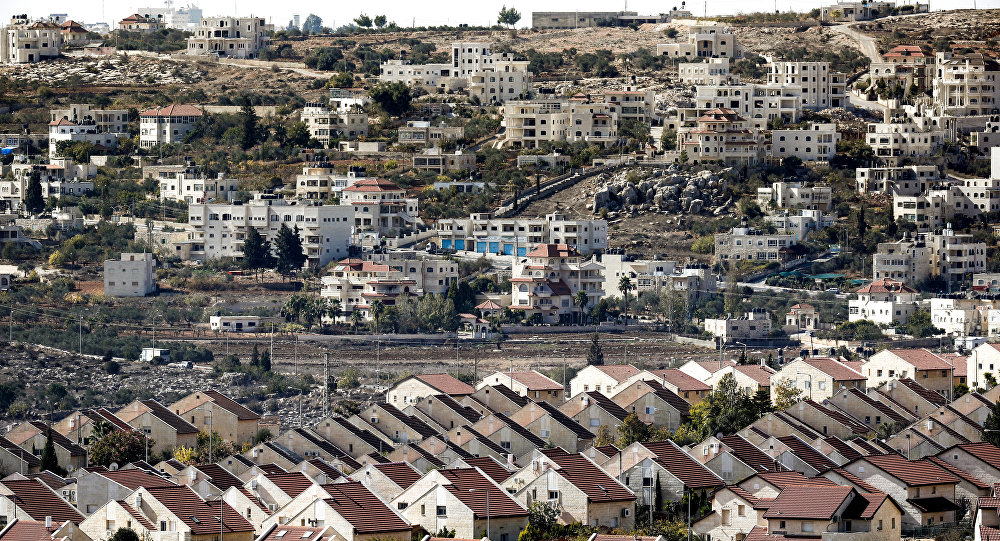 Une colonie israélienne en Cisjordanie