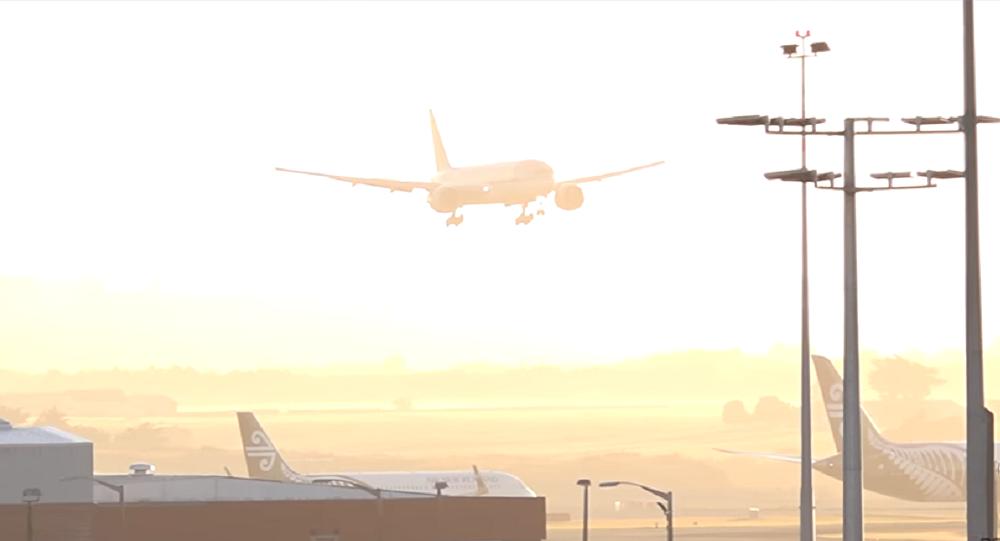 Atterrissage difficile depuis la cabine de pilotage d'un Boeing (vidéo)