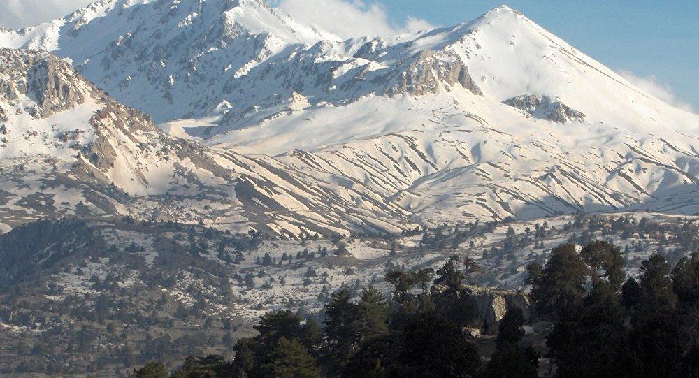 Les montagnes en Turquie