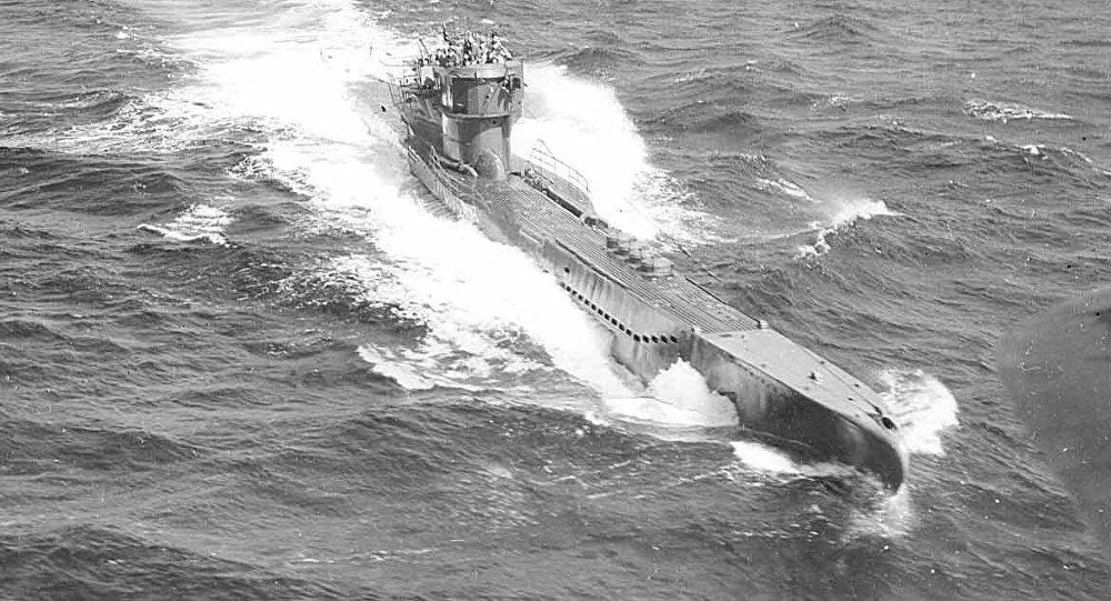 Un sous-marin nazi