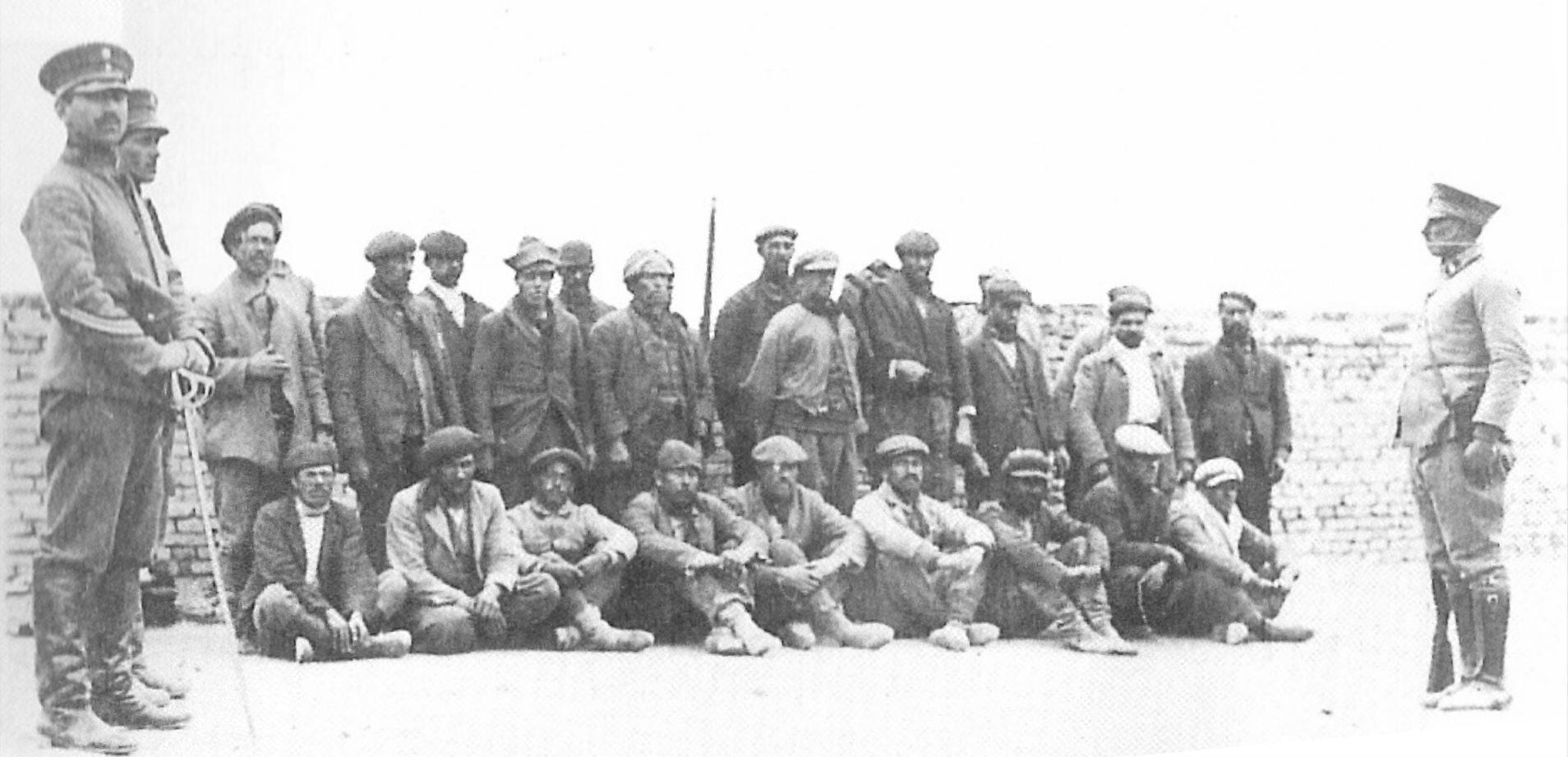 Les soldats de la  Patagonie rebelle