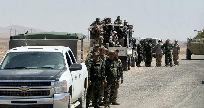 L'armée syrienne approche de Palmyre