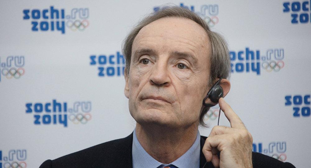 Le président de la Commission de coordination du CIO Jean-Claude Killy