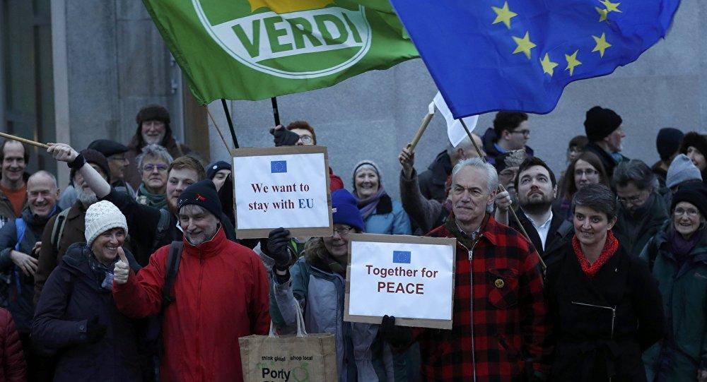 L'Ecosse contre le Brexit