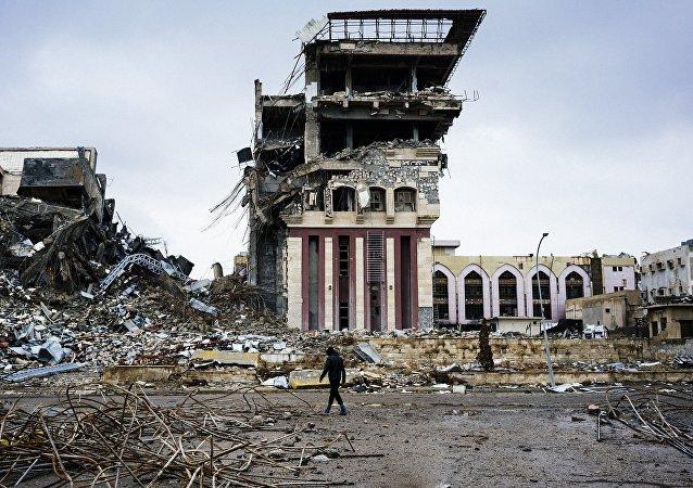 Destructions à Mossoul