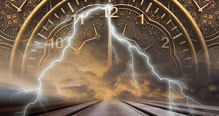 Le temps. Image d'illustration