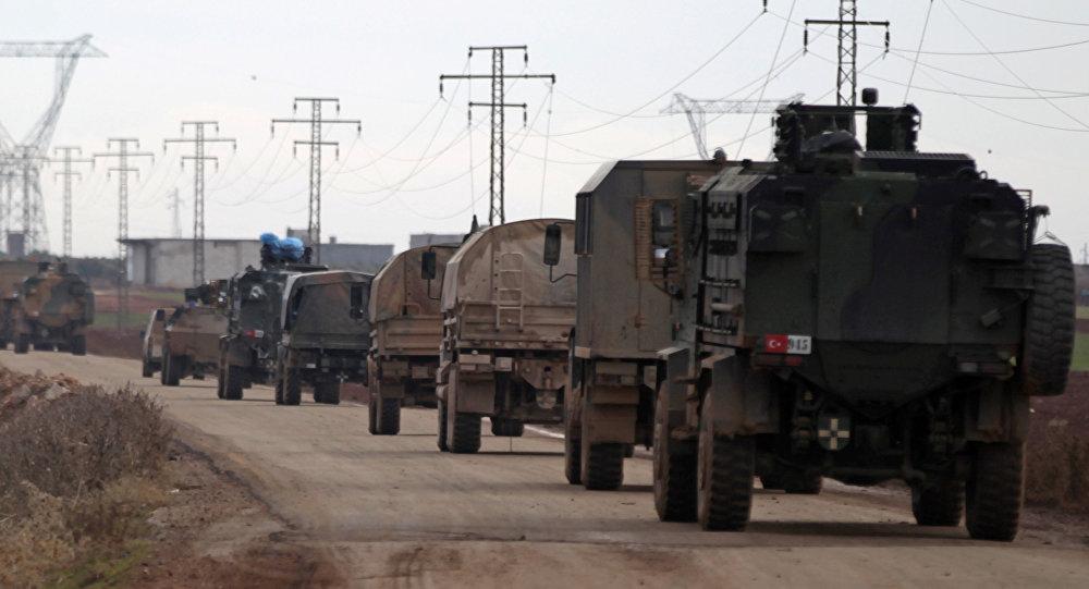 Des véhicules turcs