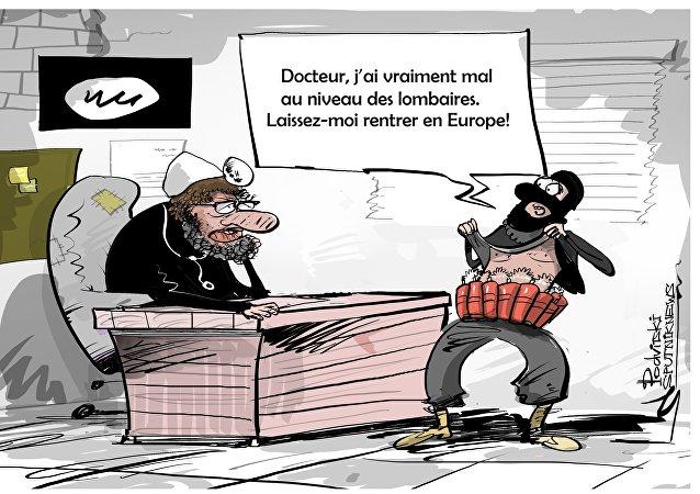 Les djihadistes de Daech ont le mal du pays