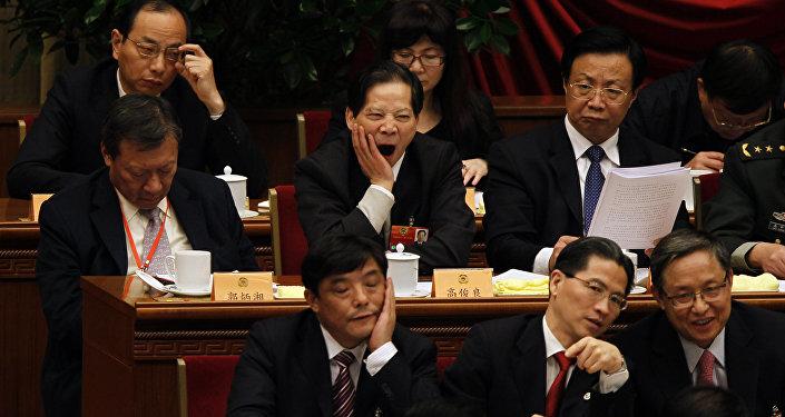 Des fonctionnaires chinois punis pour s'être endormis à une conférence sur la paresse
