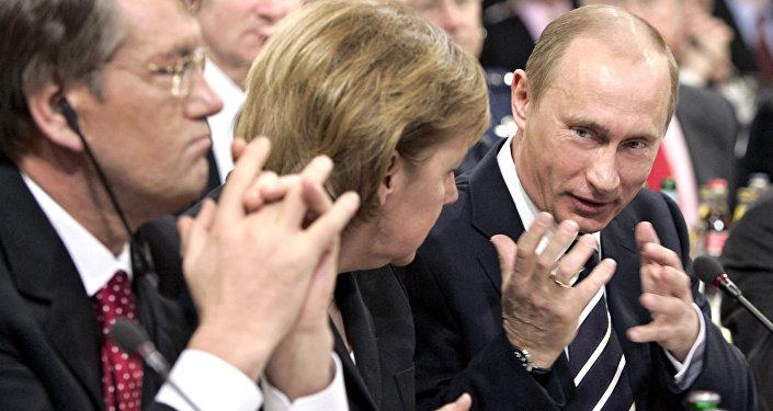 Vladimir Poutine prononce son discours de Munich.