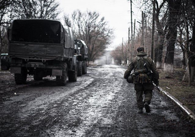 Situation dans le Donbass (archive)