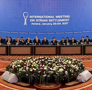 La délégation de l'Armée syrienne libre va participer aux négociations à Astana