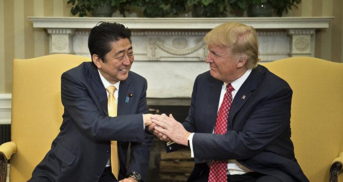 Shinzo Abe et Trump