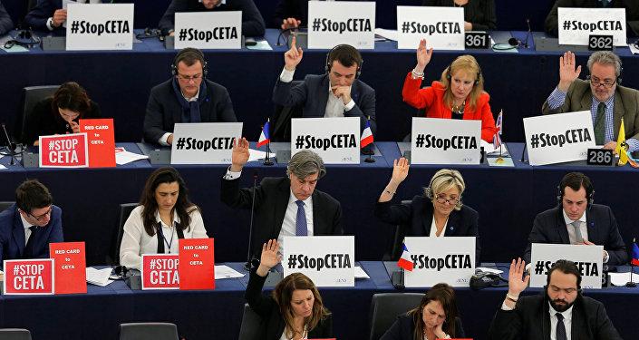 Le parlement européen a ratifié l'accord de libre-échange entre la France et le Canada