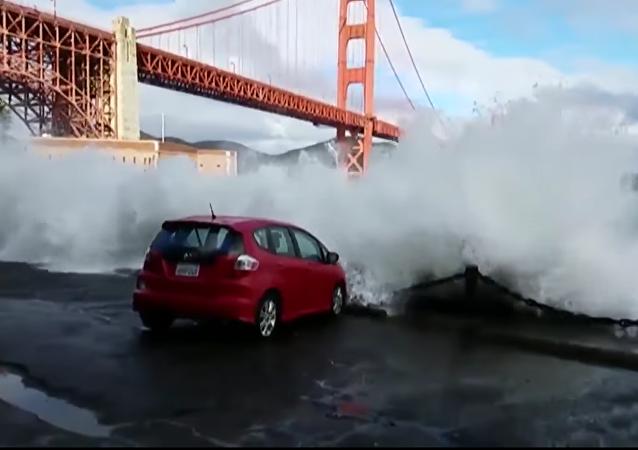 Vous voulez faire laver votre voiture ? Direction le Golden Gate !