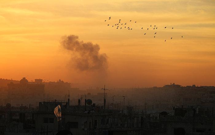 La ville syrienne de Deraa
